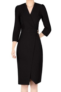 Modna sukienka damska czarna