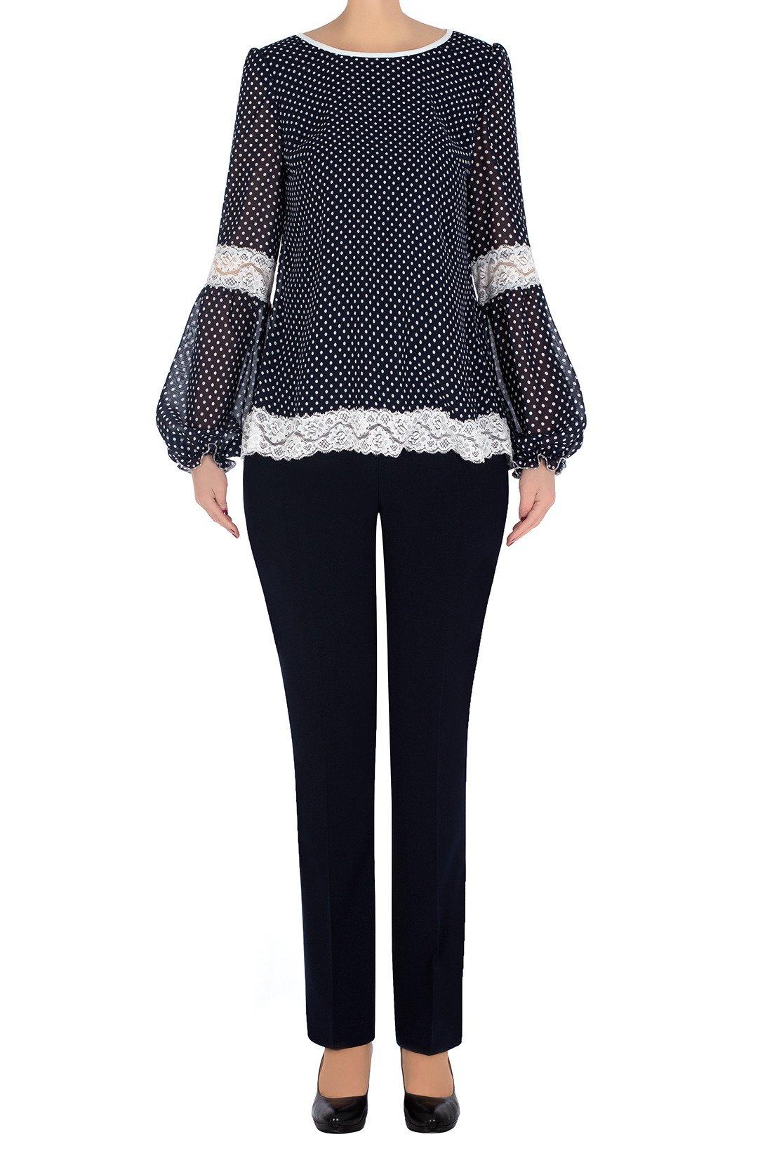 Elegancki komplet damski bluzka i spodnie 3269