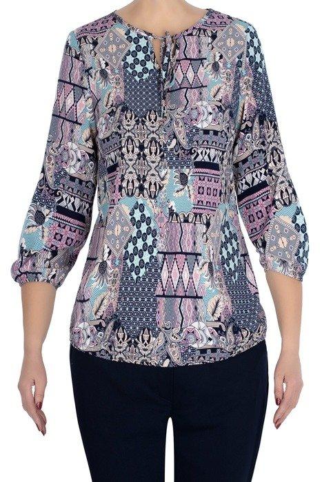 Bluzka W&M w kolorowe mazaje