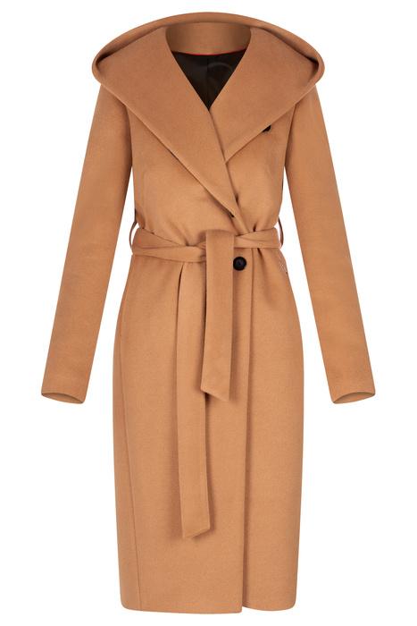 Damski płaszcz Zoe camel