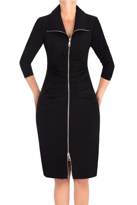 Dopasowana sukienka Maria Magdalena Giustina czarna
