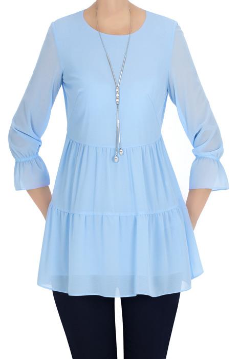 Elegancka bluzka damska Candy niebieska 3329