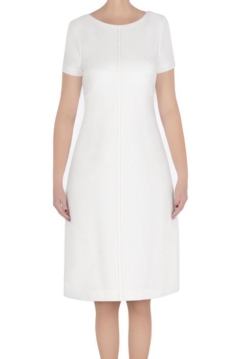 Elegancka sukienka damska Dagon 2785 ecru