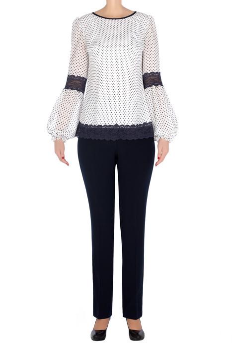 Elegancki komplet damski bluzka i spodnie 3253