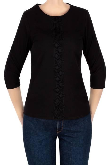 Klasyczna bluzka damska czarna