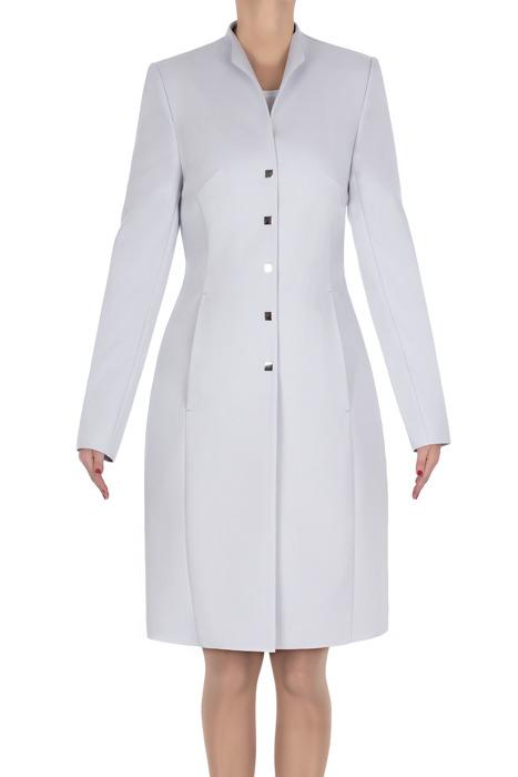 Klasyczny płaszcz Dagon szary 2708