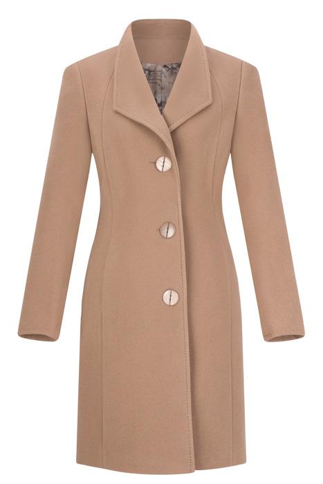 Klasyczny płaszcz damski Moris Aga camel