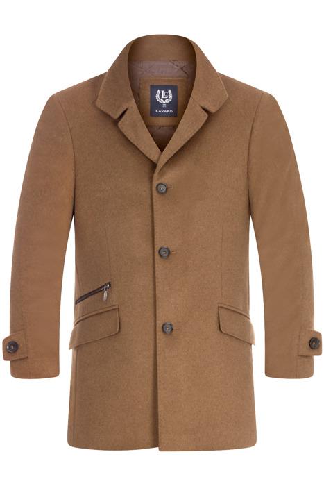 Klasyczny płaszcz zimowy Lavard Raul 2 Verona 20546 camel