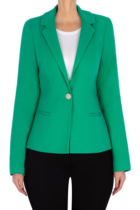 Klasyczny żakiet damski 3179 zielony