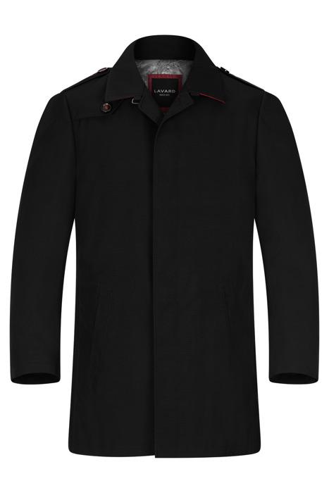 Klasyczny zimowy płaszcz Lavard Joseph 3 Lugo 12223 czarny