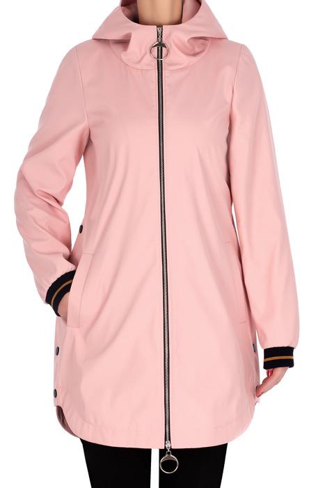 Płaszcz wiosenny, kurtka różowa 3166