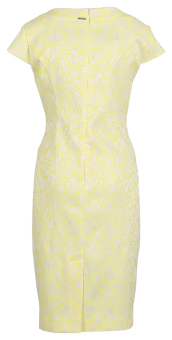 Sukienka Dagon 2046 cytrynowa