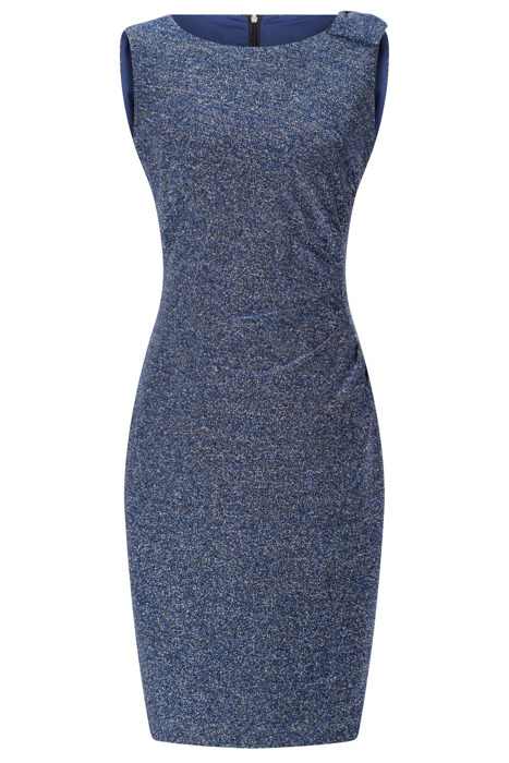 Sukienka Dagon 2430 chabrowa ołówkowa