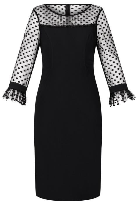 Sukienka Dagon 2523 mała czarna