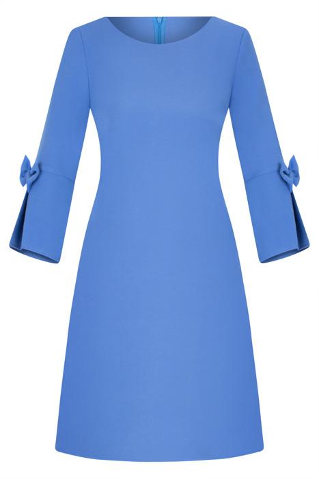 Sukienka Kama I niebieski błękit trapez