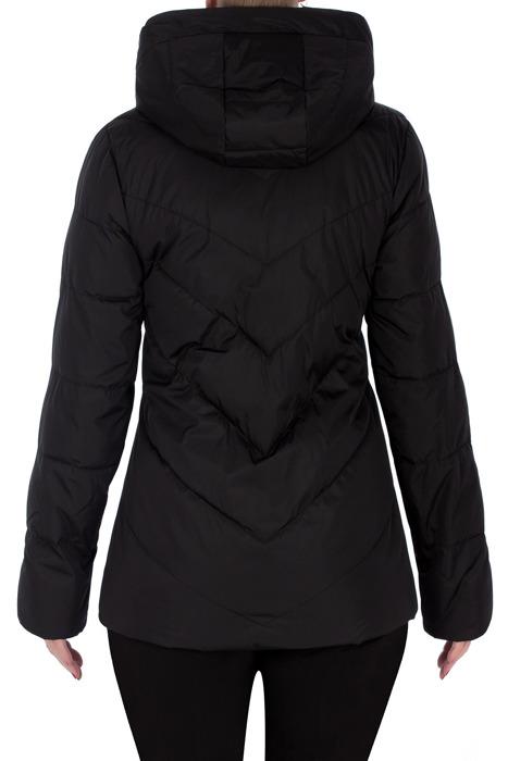 Wiosenna, pikowana kurtka czarna 3168